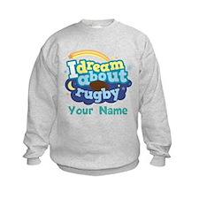 Personalized Rugby Fan Sweatshirt