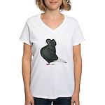 Dun Cap Flight Women's V-Neck T-Shirt