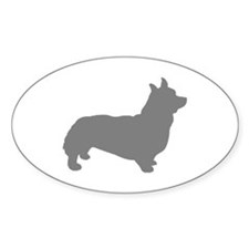 Cute Corgi breed Decal