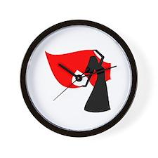 Veil Dancer Clock