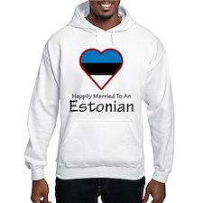 Happily Married Estonian Hoodie