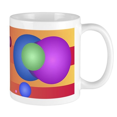 Balls on stripes Mugs