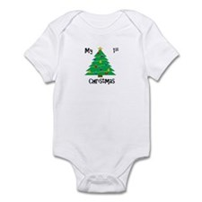 My First Christmas Tree Onesie Body Suit