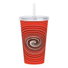 Cute Spiral Acrylic Double-wall Tumbler