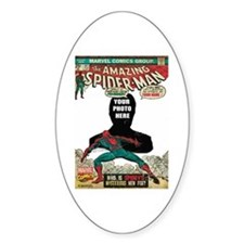 marvel comics personalized spider-m Decal