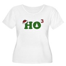 Ho Cubed Merry Christmas Plus Size T-Shirt