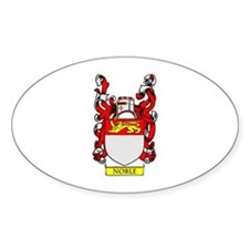 NOBLE Coat of Arms Oval Decal