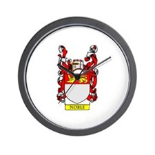 NOBLE Coat of Arms Wall Clock