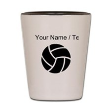 Custom Volleyball Shot Glass