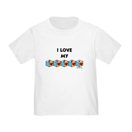 I love my Mommy Toddler T-Shirt