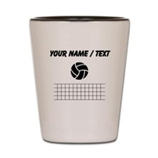 Custom Volleyball And Net Shot Glass