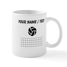 Custom Volleyball And Net Mugs
