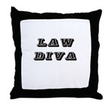 Funny Legalize Throw Pillow