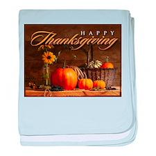 Unique Thanksgiving baby blanket