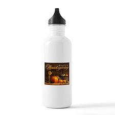 Unique Thanksgiving Water Bottle