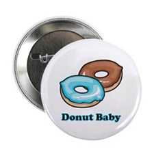 "Donut Baby 2.25"" Button (100 pack)"