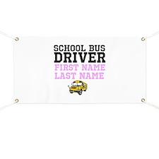 School Bus Driver Banner