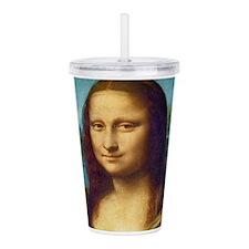 Da Vinci: Mona Lisa Acrylic Double-wall Tumbler