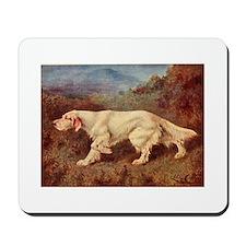 English Setter Watercolor Mousepad