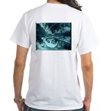 Flat Brook Bridge in the Winter T-Shirt (white)