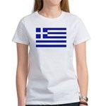 Greek Flag Women's T-Shirt