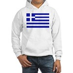 Greek Flag Hooded Sweatshirt