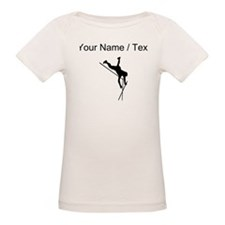 Custom Pole Vaulter Silhouette T-Shirt