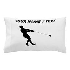 Custom Hammer Throw Silhouette Pillow Case