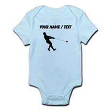 Custom Hammer Throw Silhouette Body Suit