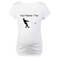 Custom Hammer Throw Silhouette Shirt
