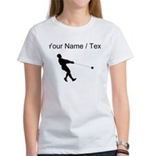 Custom Hammer Throw Silhouette T-Shirt