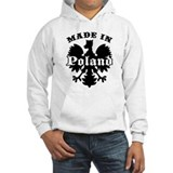 Made In Poland Hoodie Sweatshirt