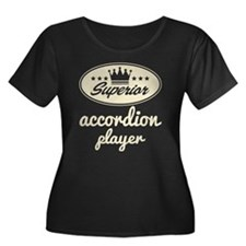 Accordion Player (superior) Plus Size T-Shirt