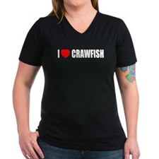 I Love Crawfish Shirt