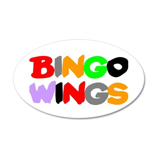 BINGO WINGS - Wall Sticker