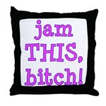 Jam This Throw Pillow