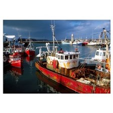 County Waterford, Ireland; Fishing Boats