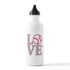 LOVE SOFTBALL/BASEBALL Water Bottle