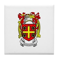 MANNING Coat of Arms Tile Coaster