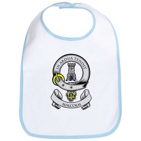 MALCOLM 2 Coat of Arms Bib