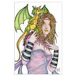 Dragon Handler Large Poster