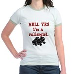 Hell Yes Jr. Ringer T-Shirt