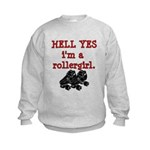 Hell Yes Kids Sweatshirt
