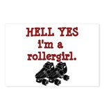 Hell Yes Postcards (Package of 8)