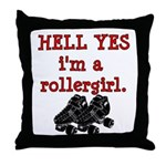 Hell Yes Throw Pillow