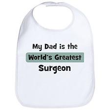 Worlds Greatest Surgeon Bib