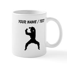 Custom Martial Artist Silhouette Mugs