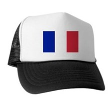 French Flag Trucker Hat