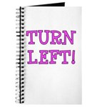 Turn Left!! Journal