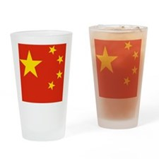 Flag of the People's Republic of Ch Drinking Glass